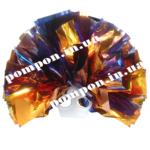 Помпоны для черлидинга – золотой и синий